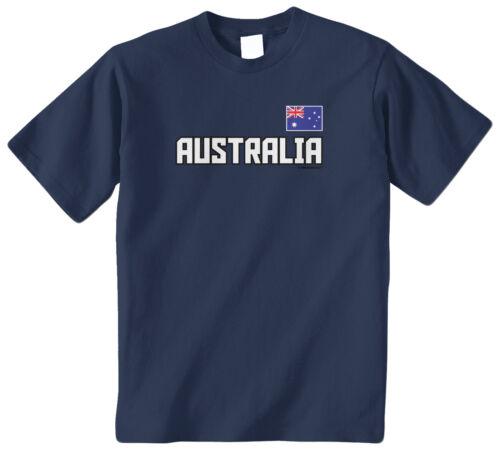 Threadrock Kids Australia National Team Youth T-shirt Flag Pride Olympics