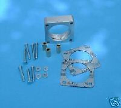 """FOR JEEP CHEROKEE /""""SWIRL/"""" THROTTLE BODY SPACER 4.0L 2.5L Fits: Jeep"""