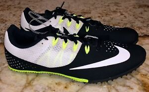 separation shoes c214b 26556 Image is loading NIKE-Zoom-Rival-S-8-Black-White-Volt-