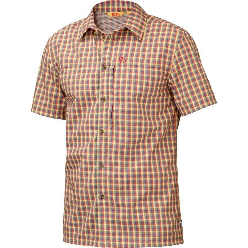 Fjäll räven svante tee short  sleeve shirt men size m, red, functional  discount sales