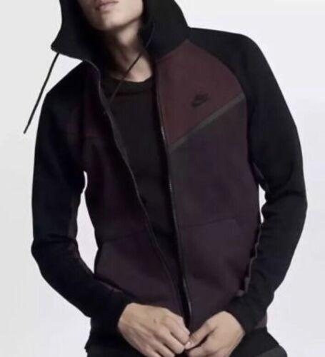 Nike Sportswear Tech Fleece Full Zip Hoodie Sweater Men's Size XL 885904 652