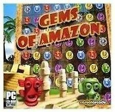 GEMS OF AMAZON   Puzzle Quest Game for PC   XP VISTA 7 8   Brand New Sealed
