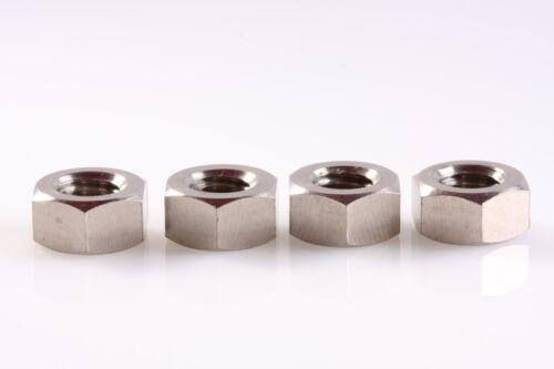 M8 Titanium Nut 4 pcs 6AL4V Aerospace Grade