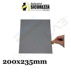 5 fogli A4 Scratch off modello gratta e vinci adesivi 200X235mm silver grattare