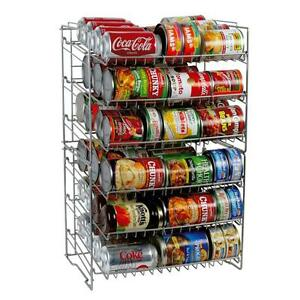 Charming Image Is Loading Can Storage Rack Pantry Organizer Kitchen Cabinet Shelf