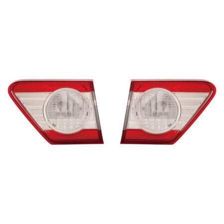 Fits 2011-2013 TOYOTA COROLLA Tail Light Back Up Light Inner Pair