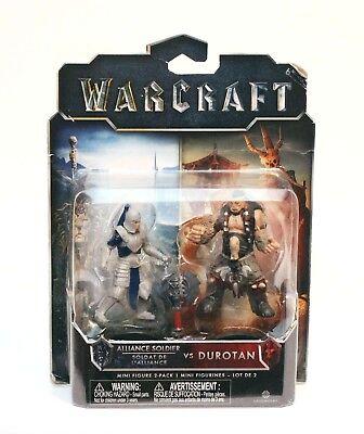 Warcraft Jakks Pacific Alliance soldat vs burent Action Figures