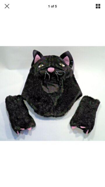 NWT Pottery Barn Teen Black Kitty Cat Costume Halloween ...
