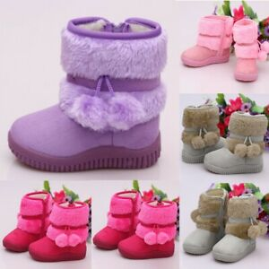 Toddler-Kids-Baby-Shoes-Children-Boy-Girls-Bootie-Solid-Warm-Outdoor-Shoes-Boots