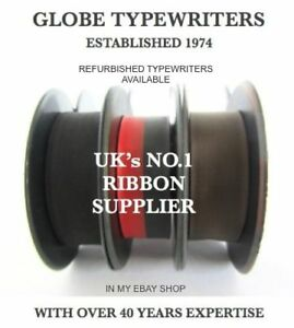 COMPATIBLE-TYPEWRITER-RIBBON-FITS-BROTHER-DELUXE-1350-BLACK-BLACK-RED-PURPLE