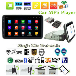 1Din-Android-8-1-9-034-HD-Quad-core-2G-32G-Car-BT-Stereo-Radio-MP5-Player-GPS-Navs