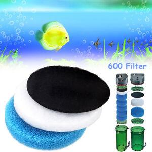 Aquarium-Tank-Biochemical-Carbon-Cotton-Filter-Sponge-Pack-For-EHEIM-Classic-600