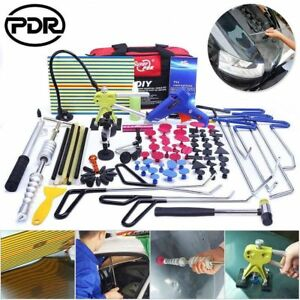 PDR Rods Tools Paintless Dent Repair Removal Set Dent Lifter Spring Steel Kit