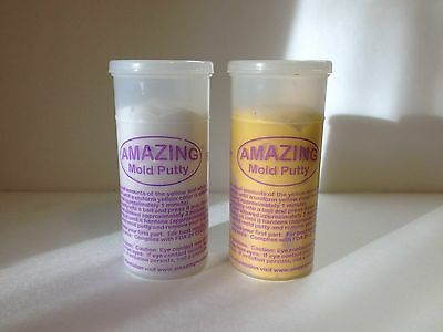 2/3 Of a Pound (300 Grams) Amazing Mold Putty For Resin, Polymer Clay, Choc.
