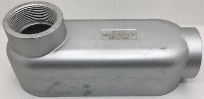 LB-250ACG CFI 2-1//2/'/' ALUMINUM DIE CAST THREADED LB CONDUIT BODY W//FLAT COVER /&