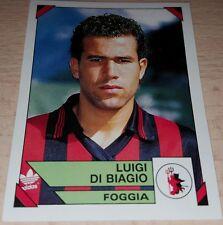 FIGURINA CALCIATORI PANINI 1993/94 FOGGIA DI BIAGIO ALBUM 1994