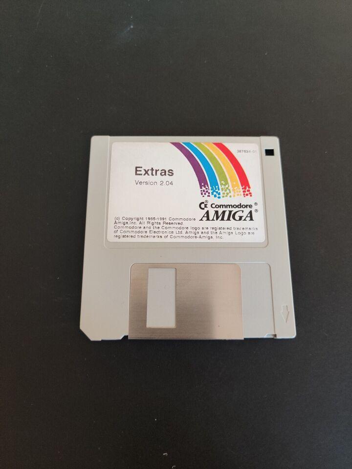 Amiga Workbench 2.04, Amiga
