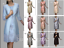 Mother-Of-the-Bride-Dresses-Gowns-3-4-Sleeves-Size-8-10-12-14-16-18-20-22-Plus thumbnail 1