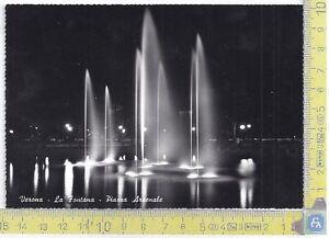Verona-Fontana-Piazza-Arsenale-Fountain-039-60-039-s-Cartolina-Postcard