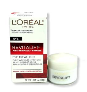 L'Oreal Paris Revitalift Anti-Wrinkle + Firming Eye Treatment 0.5oz./14g New