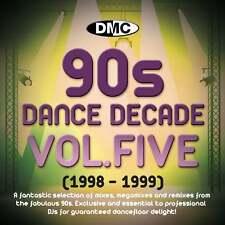 DMC Dance Decade Vol 5 1998 - 1999 Hits of the Nineties Mixes DJ CD Megamixes