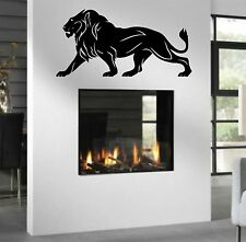WD Wandtattoo Löwe Lion Asien Afrika Wandaufkleber Wandsticker Wohnzimmer Flur