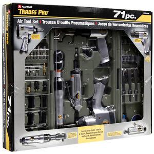 Trades Pro® 71pcs DIY Starter Air Tool Accessories Kit Set w/ Case - 836668