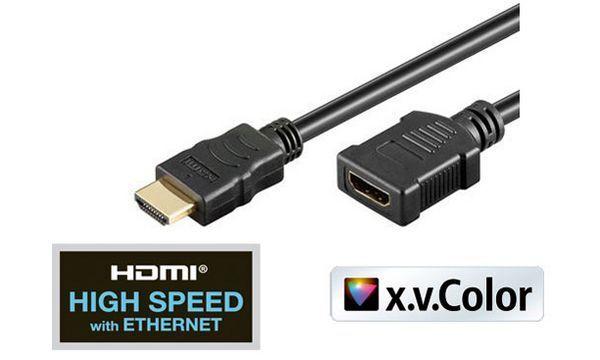shiverpeaks BASIC-S HDMI Verlängerungskabel, 0,25 m