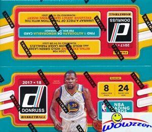 2017-18-Panini-Donruss-Basketball-MASSIVE-24-Pack-Retail-Box-1-AUTOGRAPH-MEM
