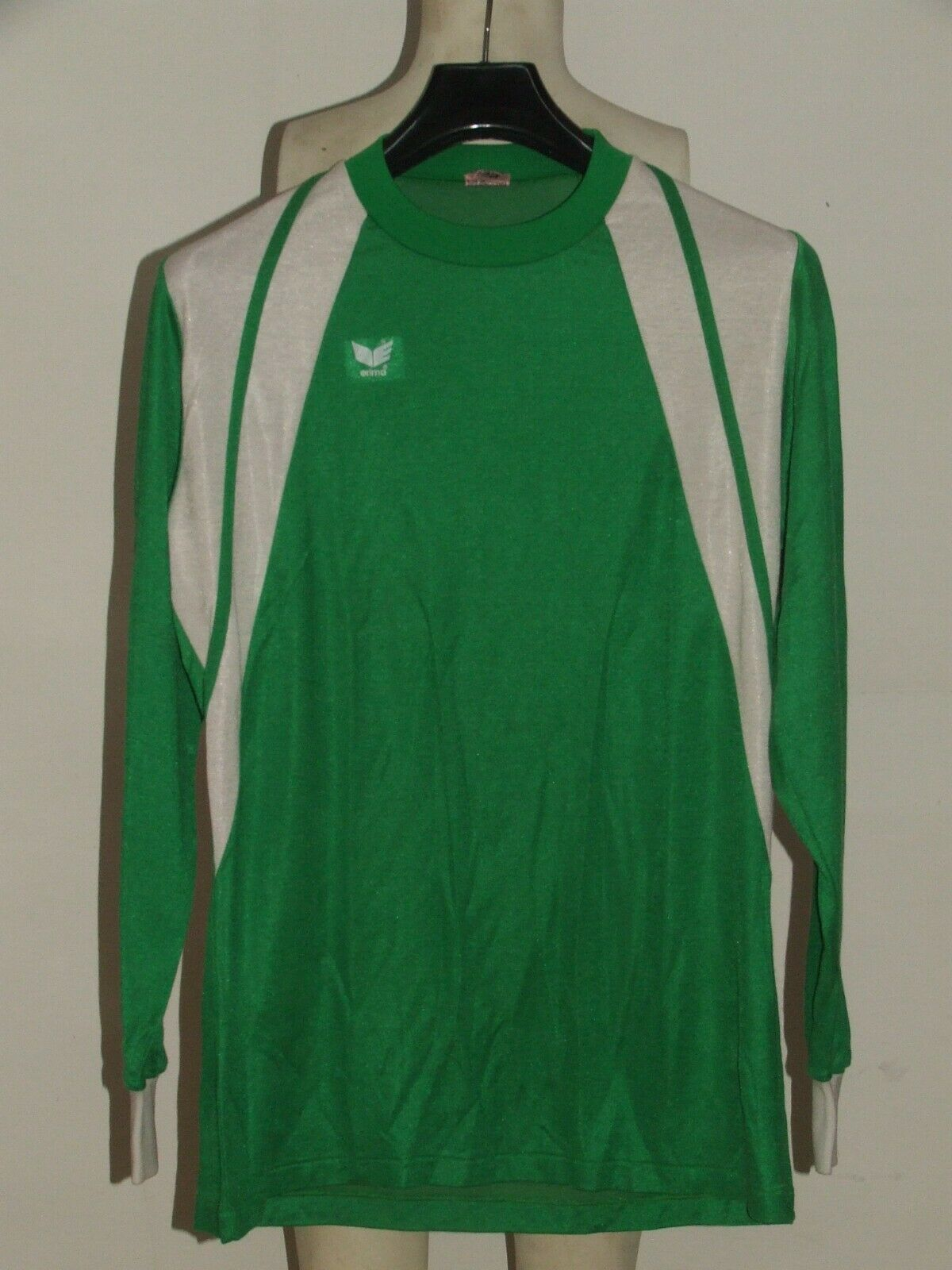 SOCCER JERSEY MADE IN WEST GERMANY VINTAGE ERIMA 80's (042) size 7 8