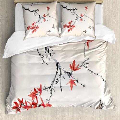 Japonés ropa de cama set romántico tema de primavera microfaserstoff suave