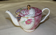 Wedgwood Butterfly Bloom Bone China 370ml Regular Size Teapot