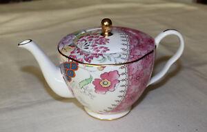 Wedgwood Butterfly Bloom Bone China 370ml Regular Size Teapot