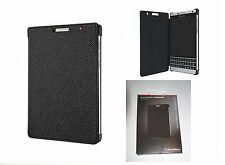 Original Blackberry Passport Silver Edition Leder Flip Case Cover ACC-62023-001