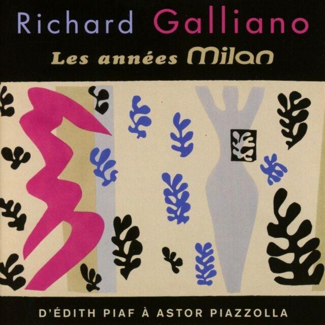 GALLIANO,RICHARD - THE MILAN YEARS   2 CD NEUF