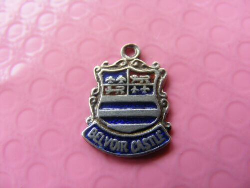 1 VARIOUS VINTAGE STERLING SILVER CHARM CHARMS UK TRAVEL SHIELD