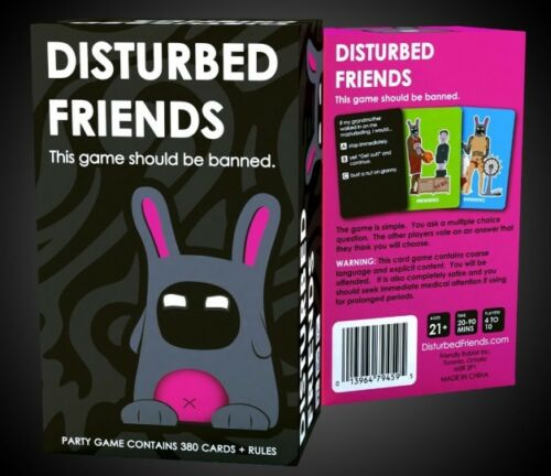 Make your weekend New Sealed Disturbed Friends