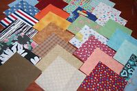 Lota Of 250 Quilt, Cotton Fabric Charm Pack, 2.5 Squares-grab Bag