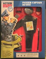 vintage action man 40th anniversary german tank commander uniform carded boxed