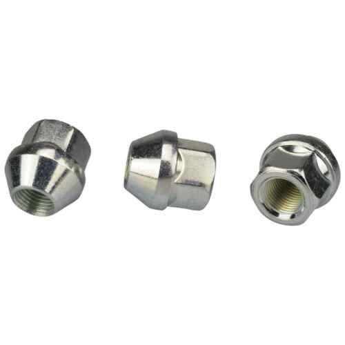 20 zinco ALETTA madre 1//2 UNF apertamente sw19 cono cono federale 60 ° Alluminio Acciaio Cerchioni