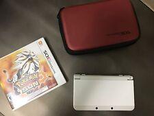New Nintendo 3DS (N3DS) Super Mario Edition - White WITH POKEMON SUN