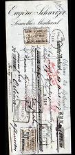 "LAMOTHE-MONTRAVEL (24) VINS ""Eugéne SCHWEIZER"" en 1907"