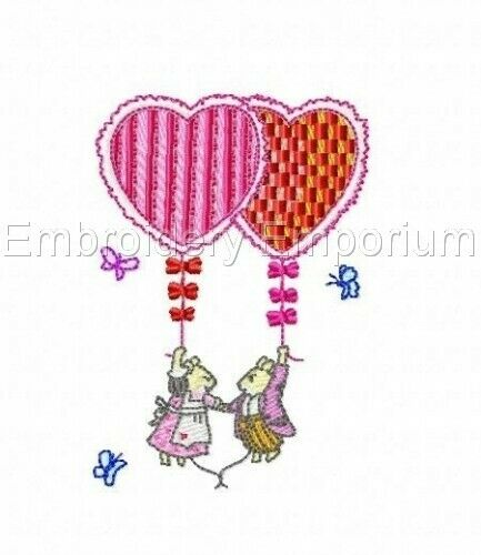 MICE /& MORE COLLECTION MACHINE EMBROIDERY DESIGNS ON CD OR USB