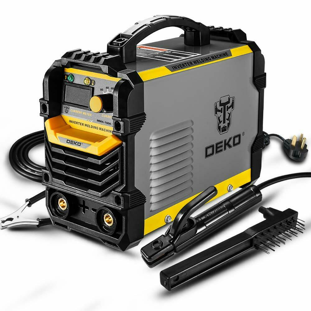 DEKO 110/220V MMA ARC Welder Machine IGBT Digital Display LCD Hot Start Welder. Buy it now for 160.00