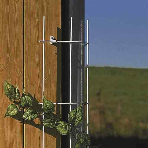 Fallrohrgitter 150cm Rankhilfen Rosengitter Garten Blumen Pflanzen Begrünung NEU
