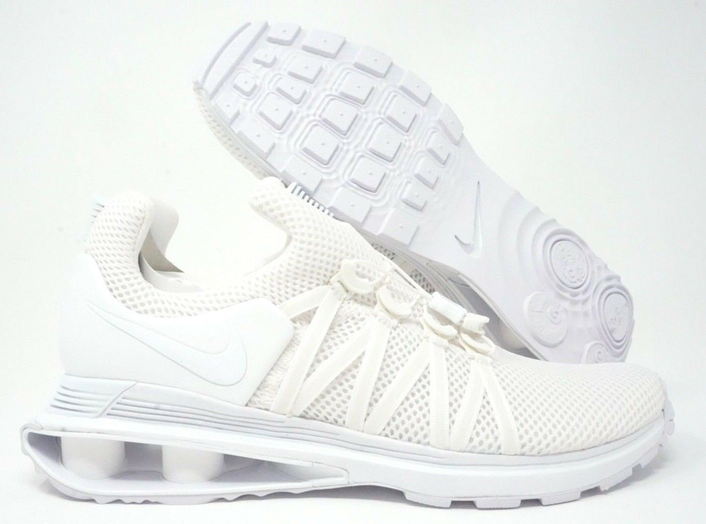 Nike Shox Gravity Mens Running shoes Triple White Size Size Size 10.5 04ee0c
