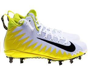 Details about Nike Alpha Menace Pro Mid Football Cleats NIB size 11 Yellow  White Black