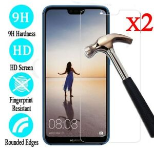 2PC-Tempered-Glass-Film-Screen-Protector-Cover-For-Huawei-P20-P20-Pro-P20-Lite