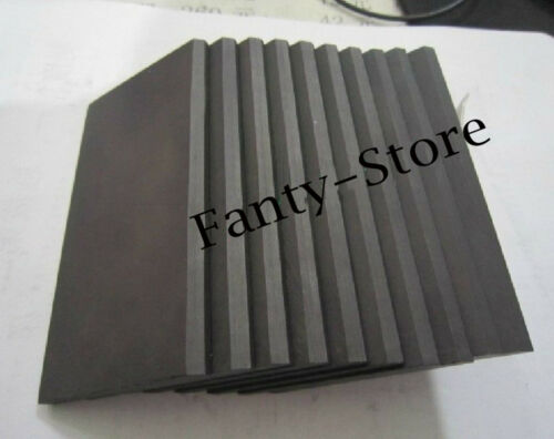 1pcs High Purity 99.99/% Graphite Rectangle Plate Sheet 300*200*20mm #U6P-20