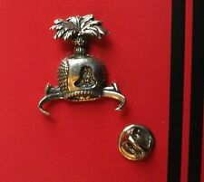 English Pewter HOOD, Hawking, Falcon  Pin Badge Tie Pin / Lapel Badge  C5